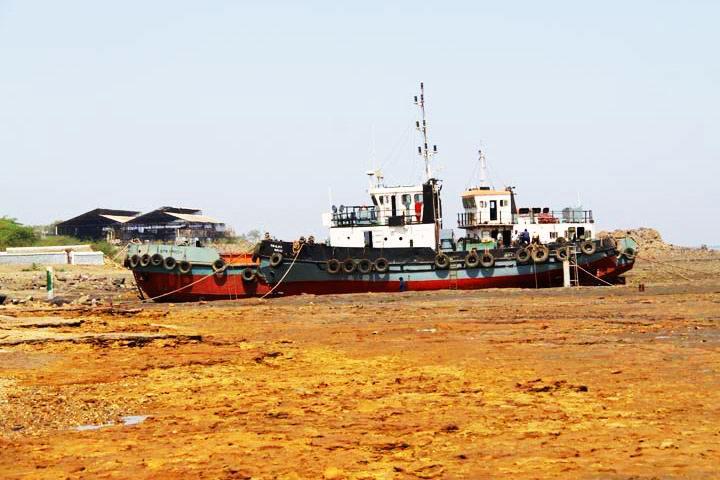Ghogha Beach