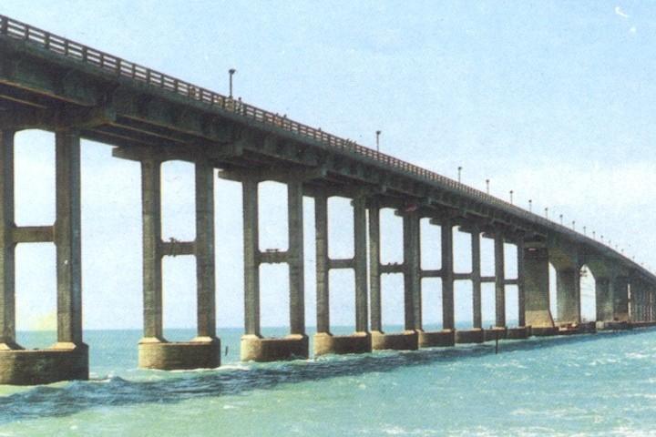Annai Indira Gandhi Road Bridge (Rameswaram)